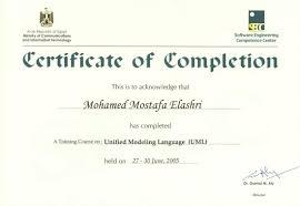 Certificate Template For Training Course Filename Elsik Blue Cetane