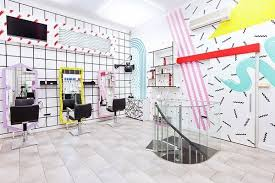 postmodern interior architecture. YMS With Artistic Interior And Postmodern Graphics #interior #salon #modern #youthful # Architecture