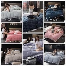 24 styles striped plaid bedding sets plaid duvet covers for king size bed plaid bedding duvet cover sheets pillow cover cca7583 queen duvet bedding sets