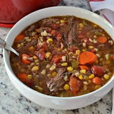 beef barley soup small town woman