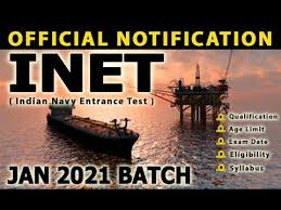 Inet 2020 Official Notification Eligibility Criteria Age Limits