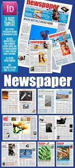 Extra Extra Newspaper Template 24 Pages Newspaper Template Newspaper Template For 24 Pages