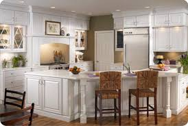 Kitchen : Inspiring Kitchen With White Thomasville Cabinets And ...