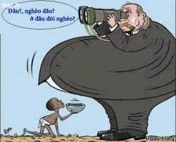 Image result for cảnh nghịch đời giàu sang và nghèo khổ