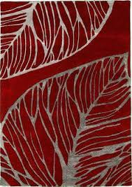 red and white carpet pattern. red and gray leaf 5\u0027 3 x 7\u0027 7 collectible area rug @esalerugs white carpet pattern