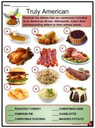 It's the sweetest time of year! Christmas Dinner Facts Worksheets Traditions Differences For Kids
