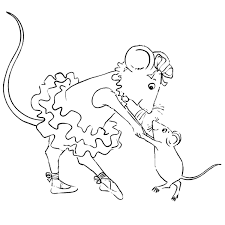 Small Picture Angelina Ballerina Coloring Pages
