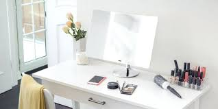 appealing lighted vanity makeup mirror a4174286 battery operated led lighted wall mount vanity makeup mirror