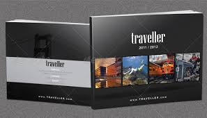 10 Beautiful Tourist Booklet Templates For Travel Agencies _
