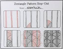 Zentangle Patterns Step By Step Adorable Afbeeldingsresultaat voor zentangle patterns for beginners step by