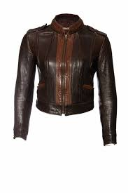 levi straus co levi straus co brown leather jacket in size s