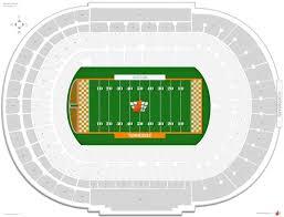 Virtual Neyland Seating Chart Neyland Stadium Tennessee Seating Guide Rateyourseats Com