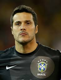 Julio Cesar #12 of Brazil stands by as the national anthem of Chile is played before a friendly match at Rogers Centre on November 19, 2013 in Toronto, ... - Julio%2BCesar%2BBrazil%2Bv%2BChile%2B6lv7-PrAUYrl