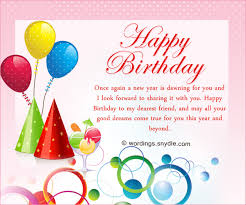5 Birthday » Message Friend World To Happy Good A