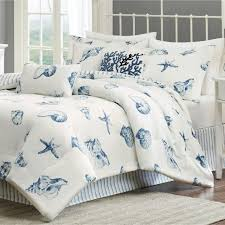 picture of bed beach themed bed ocean inspired bedroom cottage bedding ocean bedding twin picture