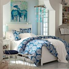 Bedroom:Incredible Teenage Girl Bedroom Ideas In Blue White Wall Color  Small Vicrotian Teenage Girl