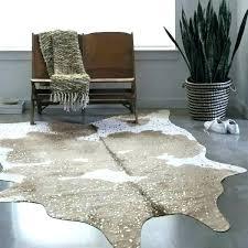 animal hide rugs faux animal skin rugs faux animal skin rugs rug taupe ivory cowhide 3 animal hide rugs