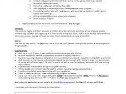 Download Cover Letter For Summer Camp | haadyaooverbayresort.com