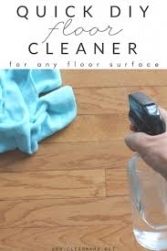 quick diy floor cleaner for any floor surface