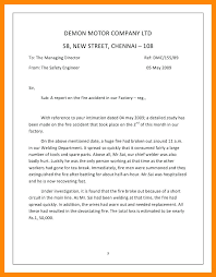 Sample Fire Incident Report Cover Letter Forms Fire Investigation