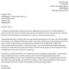 Cna Cover Letter Sample Cover Letter With Experience Cover Letter ...