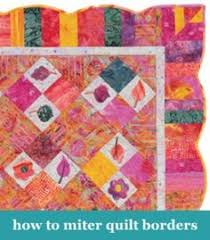 for years i was afraid of mitered corners. who knows why. but i ... & How to miter quilt borders Adamdwight.com