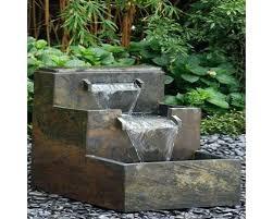 slate fountain brick wall led directions