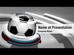 Soccer Ball Powerpoint Video Template Backgrounds Digitalofficepro