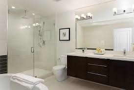 modern bathroom lighting. view in gallery a series of square bulbs creates vanity lighting modern bathroom v