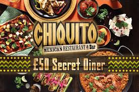 get a 50 free chiquito gift card as a secret diner
