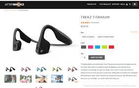 <b>Наушники</b> с костной проводимостью <b>Aftershokz Trekz Titanium</b>