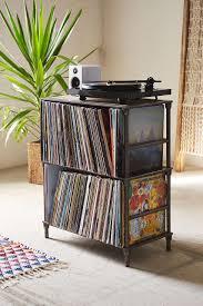 lp storage furniture. Vinyl Storage Shelf - Urban Outfitters Lp Furniture