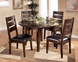 Drop Leaf Round Dining Table Round Drop Leaf Dining Table For Small Spaces Art Van Dinette