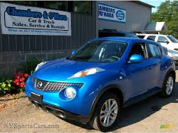 nissan juke electric blue. Simple Blue Electric Blue  BlackSilver Trim Nissan Juke S AWD And C