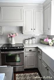 Kitchens With Grey Cabinets Adorable 48 Gorgeous And Bright Light Gray Kitchens A Roundup Of Beautiful