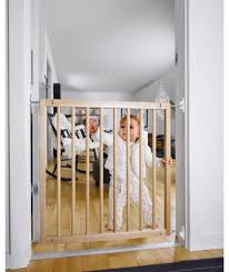 Babydan Designer Wood And Metal Gate Buy Babydan No Trip Wooden Safety Gate At Argos Co Uk Your