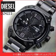 watch store kato tokeiten rakuten global market diesel watch diesel watch diesel diesel men s watches dz4223 black ip metal band chronograph overseas models