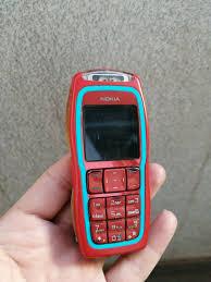 Nokia 3220 - Red on white (Unlocked ...