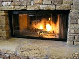 glass fireplace covers ventless gas fireplace glass doors