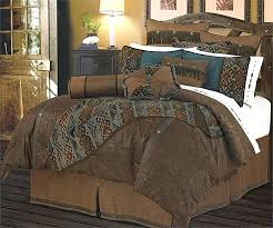 stag rustic bedding set stag rustic bedding set western cowboy bedding faux tooled leather chocolate bedding