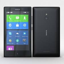 Nokia XL and XL Dual Black 3D model ...