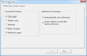 Apa Setup Apa 6th Edition Format Templates For Windows Mac