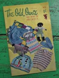 the odd ounce knitting book vine 40s 50s knitting patterns soft toys golly geisha tea
