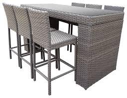 monterey bar table set barstools 7