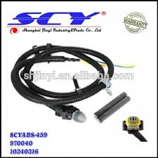 new multifit abs wheel speed sensor wire harness plug pigtail new multifit abs wheel speed sensor wire harness plug pigtail 10340314 for gm