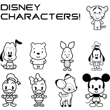 Small Picture Disney Cuties Coloring Pages GetColoringPagescom