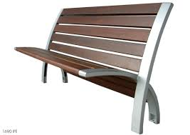 modern metal furniture. Modern Metal And Wooden Benches For Outdoor Park Furniture Wood Bench