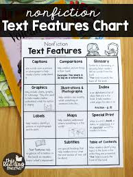 Nonfiction Text Features Chart This Reading Mama