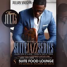 July 13: Suite Jazz Series Presents Bassist Julian Vaughn | WCLK