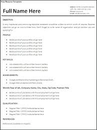 Resume Work Experience Format Interesting Example Of A Work Resume Engineering Resume Template Engineering